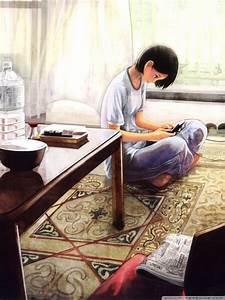 Anime Girl Playing Computer Games | www.pixshark.com ...