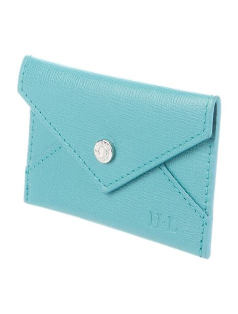 Skycase business card holder for men & women, leather business card case, handmade stylish 5.0 out of 5 stars stunning tiffany card holder by karisa orner on september 2, 2020. Tiffany & Co. Leather Card Holder - Accessories - TIF138223 | The RealReal