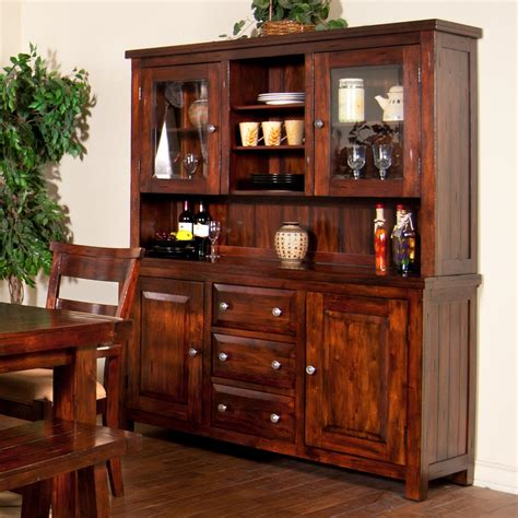 pictures of china cabinets vineyard 2 piece china cabinet with glass hutch doors by