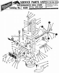 Milwaukee Electromagnetic Drill Press Stand