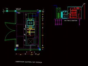 Electrical Substation Dwg Plan For Autocad  U2013 Designs Cad