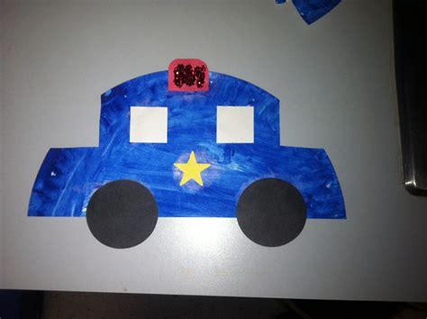 police crafts for preschoolers car craft transportation crafts 746