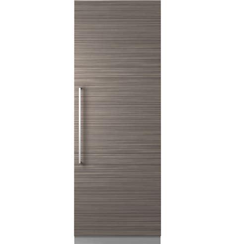 monogram  integrated column refrigerator zirnpkii ge appliances