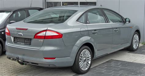 2007 Ford Mondeo Iv Sedan Pictures Information And