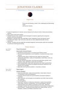 resume format travel consultant voyage exemple de cv base de donn 233 es des cv de visualcv