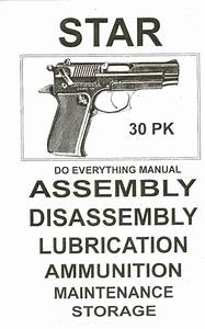 Star 30 Pk Assembly And Disassembly Manual