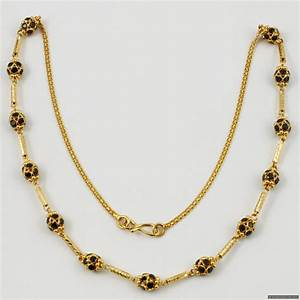 22ct Indian Gold Necklace/Mala | Mala | Indian Jewellery ...