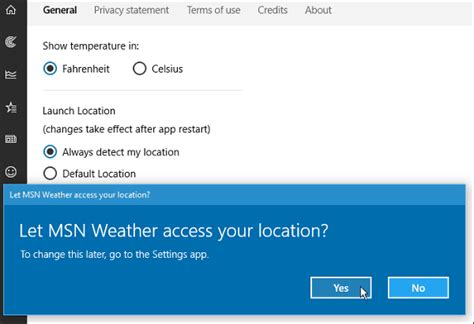 weather app settings windows 10 tip add locations to the weather app