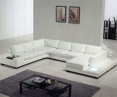 contemporary white leather sofa 2 309 tosh furniture modern white leather sectional sofa