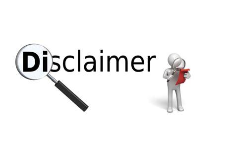 disclaimer apanache