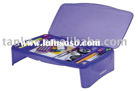 lap desk plastic table storage lap desk portable desk for