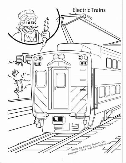 Coloring Trains Really Books Number Quantity Popular