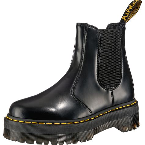 Dr. Martens, 2976 Quad Plateau Chelsea Boot, schwarz ...