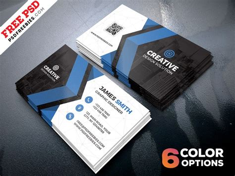 Design Business Cards Free Print Home by Creative Business Card Template Psd