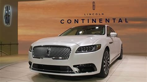 All-new 2017 Lincoln Continental Impresses