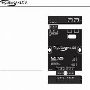 31 Lutron Homeworks Wiring Diagram