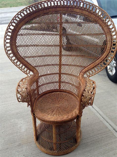 the wicker fan back chair laurie jones home