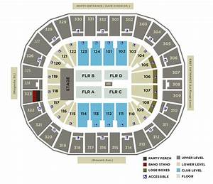 Seating Charts Smoothie King Center