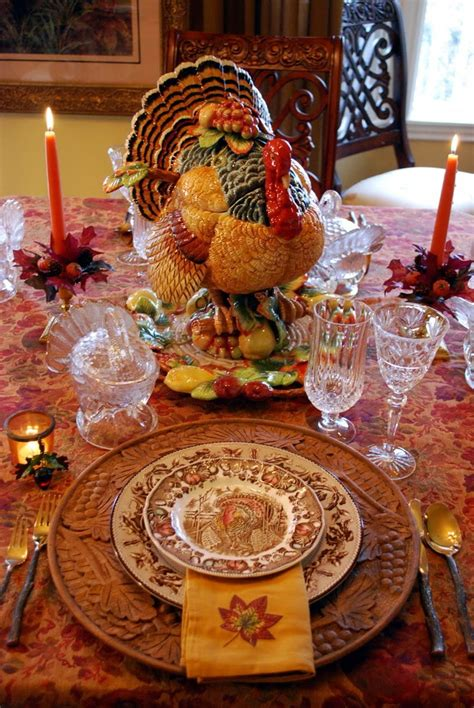 thanksgiving table setting decorating for autumn and a thanksgiving tablescape
