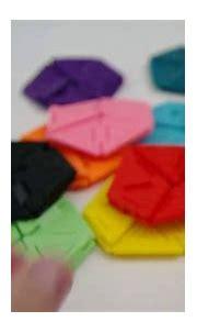 Fidget Toy Hexaflexagon, Folding Desk Toy, 3D Printed ...