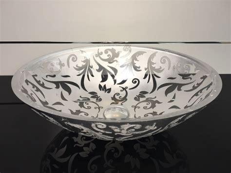 Fancy Kitchen Sinks by Damasco Fancy Glass Vessel Sink