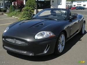 2011 Stratus Grey Metallic Jaguar XK XKR Convertible ...