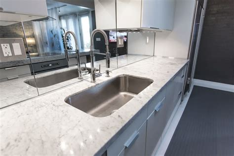 kitchen mirror backsplash excellent rectangle undermount sink with white marble