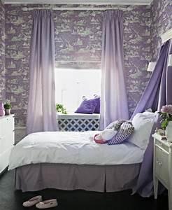 Sehr Kleines Schlafzimmer : lila schlafzimmer 31 super kreative beispiele ~ Sanjose-hotels-ca.com Haus und Dekorationen