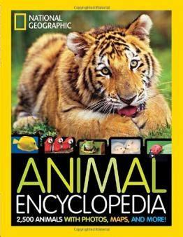 National Geographic Animal Encyclopedia Book