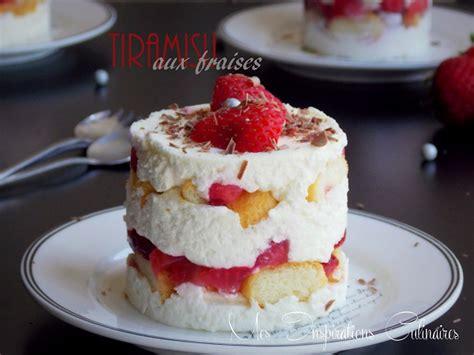 recette de cuisine sans oeuf tiramisu aux fraises recette sans oeufs le