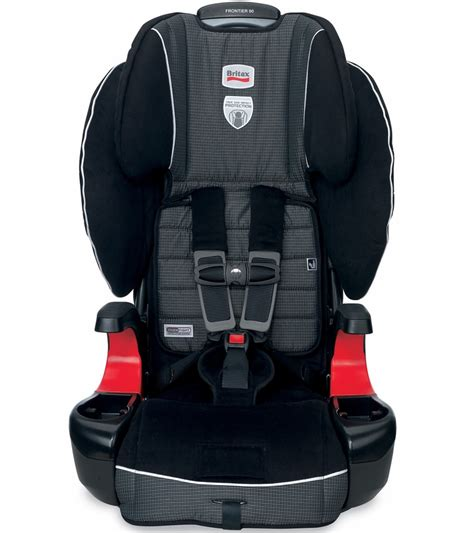 britax frontier  booster car seat onyx