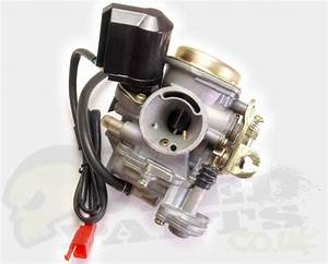 Piaggio   Chinese 4 Stroke Carb And Choke Kit