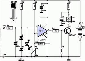 How To Build Components Voltage Tester Circuit Schematic
