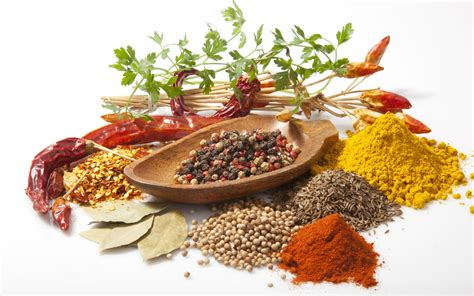 cuisine spicy herbs and spices hd wallpaper and background image