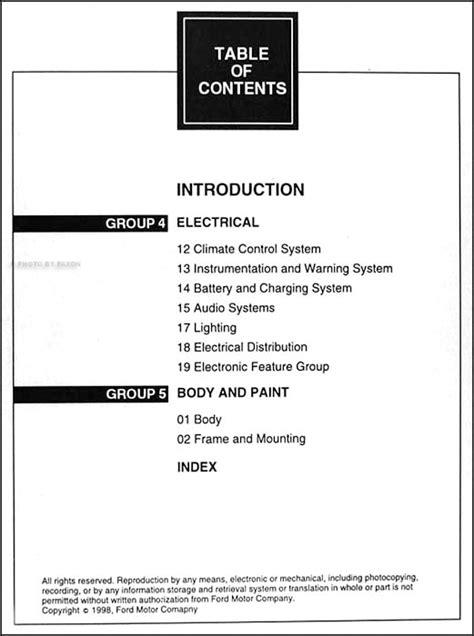 car engine manuals 1999 mercury mountaineer user handbook 1999 ford explorer mercury mountaineer repair shop manual original set of 2