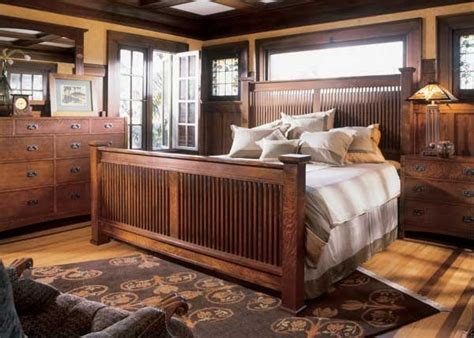 stickley bed set house craftsman