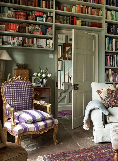 english home love  purple  white chair style