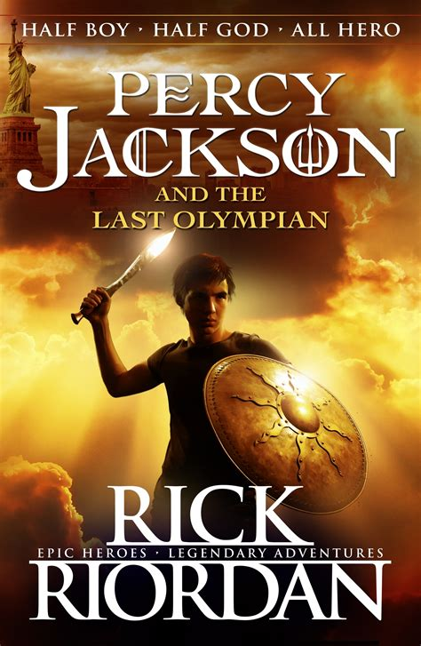 Percy Jackson And The Last Olympian (book 5) By Rick