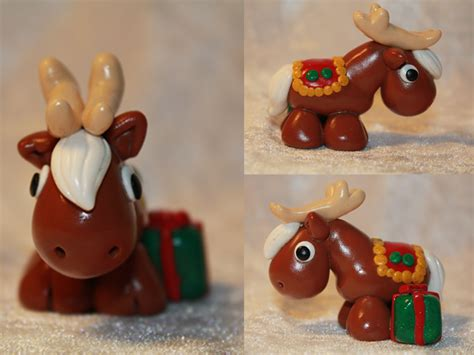 christmas reindeer brown for sale by animaliscreations