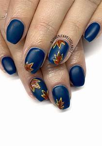 22 stunning fall nail ideas for autumn 2020 fall leaves