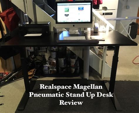 realspace magellan stand up desk review realspace magellan pneumatic stand up adjustable desk