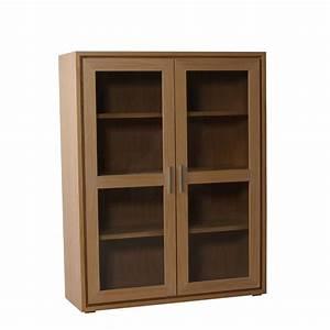 Vitrine En Bois : meuble vitrine en bois brin d 39 ouest ~ Teatrodelosmanantiales.com Idées de Décoration