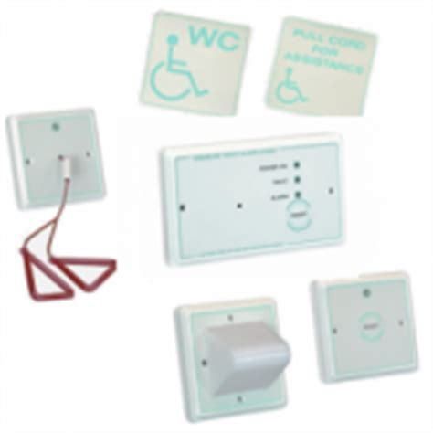 wireless pull cord disabled bathroom and toilet alarm system sports supports mobility