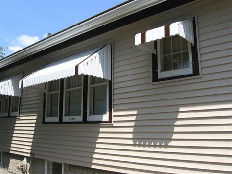 metal window awnings aluminum aluminum awnings