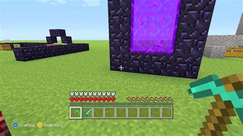 minecraft portal creative nether mode survival
