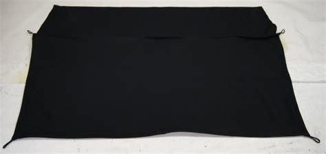 chevy corvette  rear cargo privacy cover black