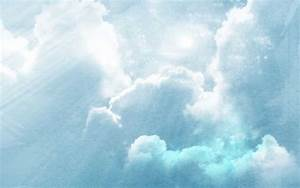 Image Gallery light blue sky background