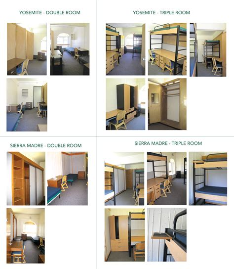cal poly room floor plans madre yosemite residence halls