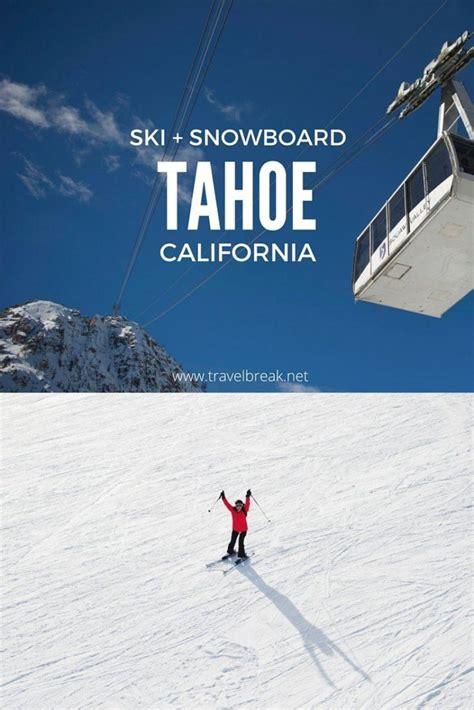 tahoe ski escape winter in squaw valley california photos travelbreak