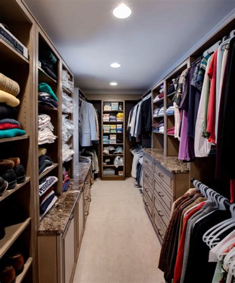 Narrow Walk In Closet by A List Of Closet Styles Which One Do You Prefer